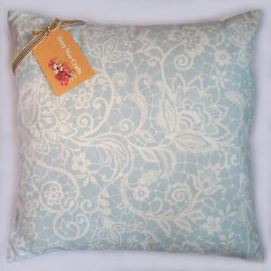 Cushion-cover-made-from-Clarke-and-Clarke-Lace-Sky-fabric