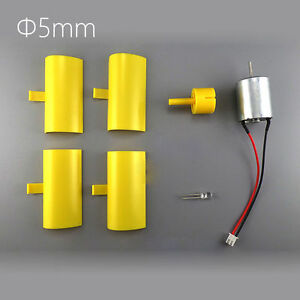 Details About Dc Micro Motor Small Led Lights Vertical Axis Wind Turbine Generator Blades