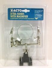 ELMERS CORPORATION X75170 X-ACTO EXTRA HAND DOUBLE WITH MAGNIFIER