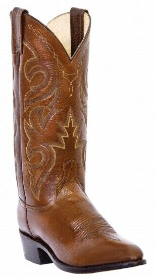 Dan Post DP2111R Men's Milwaukee Collection Western Boot with Antique Tan Mignon