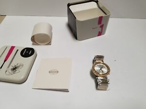 Fossil-Urban-Traveler-Silver-Dial-Two-tone-Stainless-Steel-Ladies-Watch