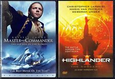 Master and Commander: The Far Side of the World (DVD) & Highlander 3: TFD (DVD)