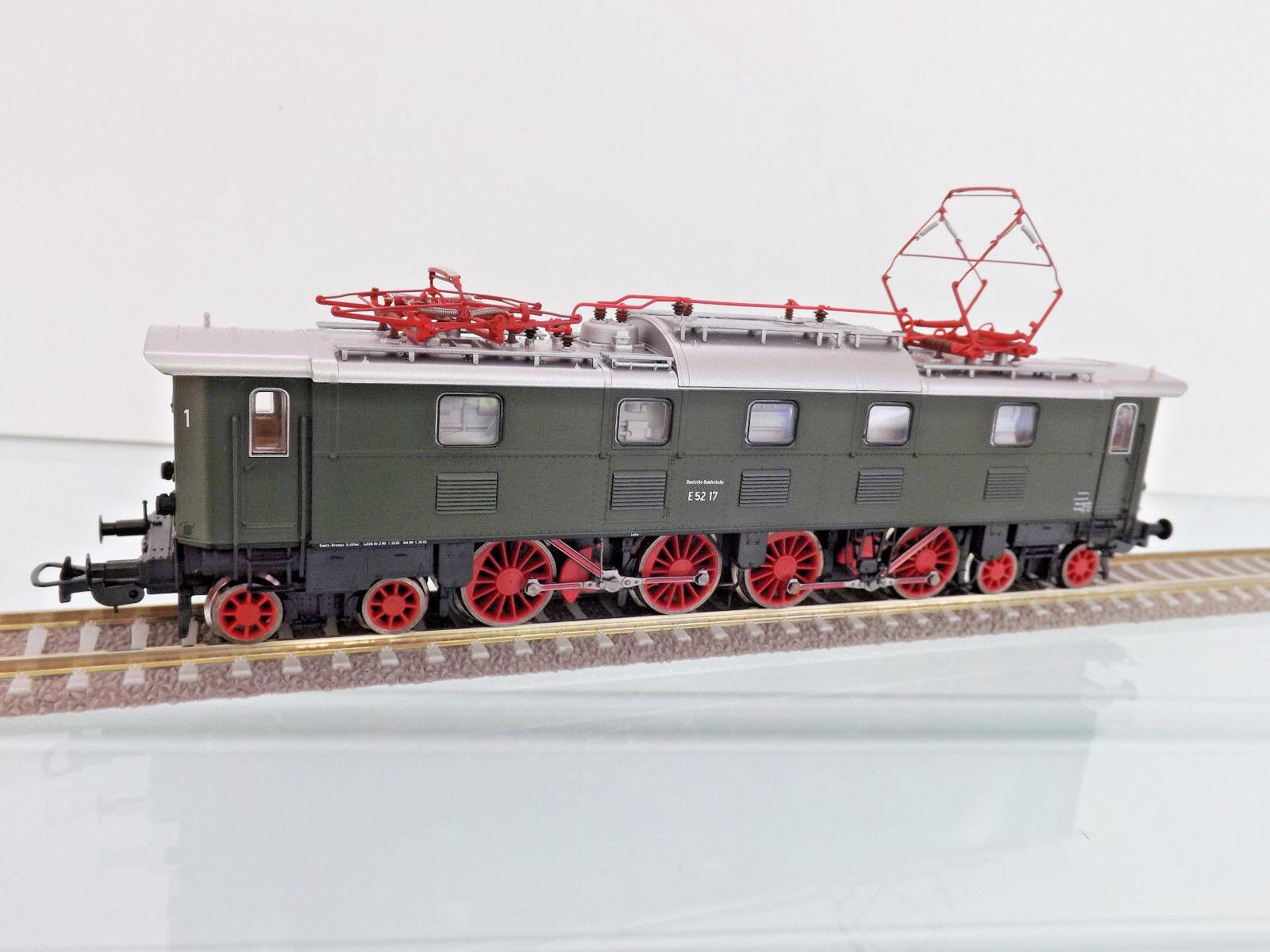 Piko 51824 - Escala H0 - Locomotora Eléctrica E 52 17 de DB,Ep. III - Nuevo en