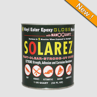 Solarez Vinyl Ester Epoxy Gloss Resin Quart