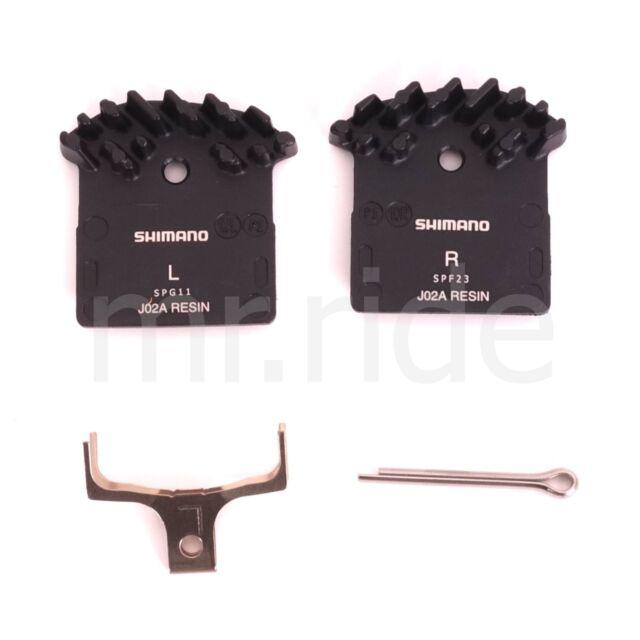 2Pr Shiamno FIN Resin Disc Bike Brake Pads J02A XTR XT SLX M9020 M985 M8000 M785