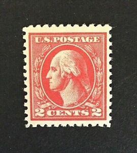 US-Stamp-Scott-527-2c-1920-VF-XF-M-NH-Unusually-large-margins-Type-V
