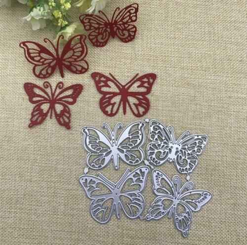 butterfly Metal Cutting Dies DIY Album Paper Cards Decorative Embossing Die Cuts