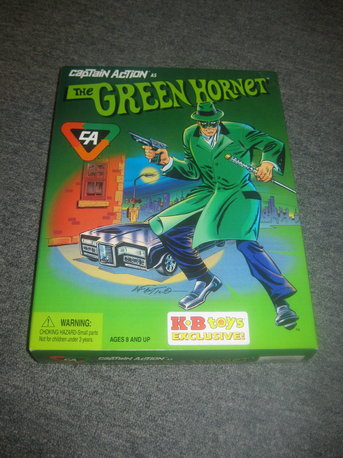 Playing Mantis Captain Action Grün Hornet & Kato Action Figures NEW KB Toys