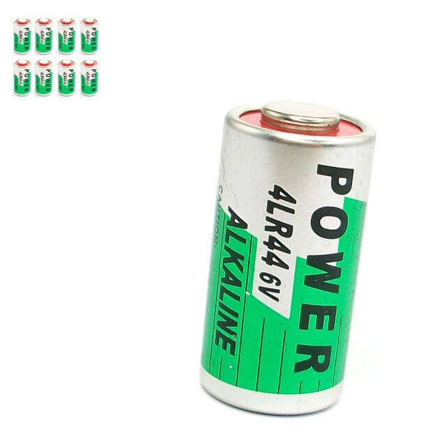 8 pcs 28A 6V 4LR44 PX28A 4G13 1414A 544 Alkaline Battery