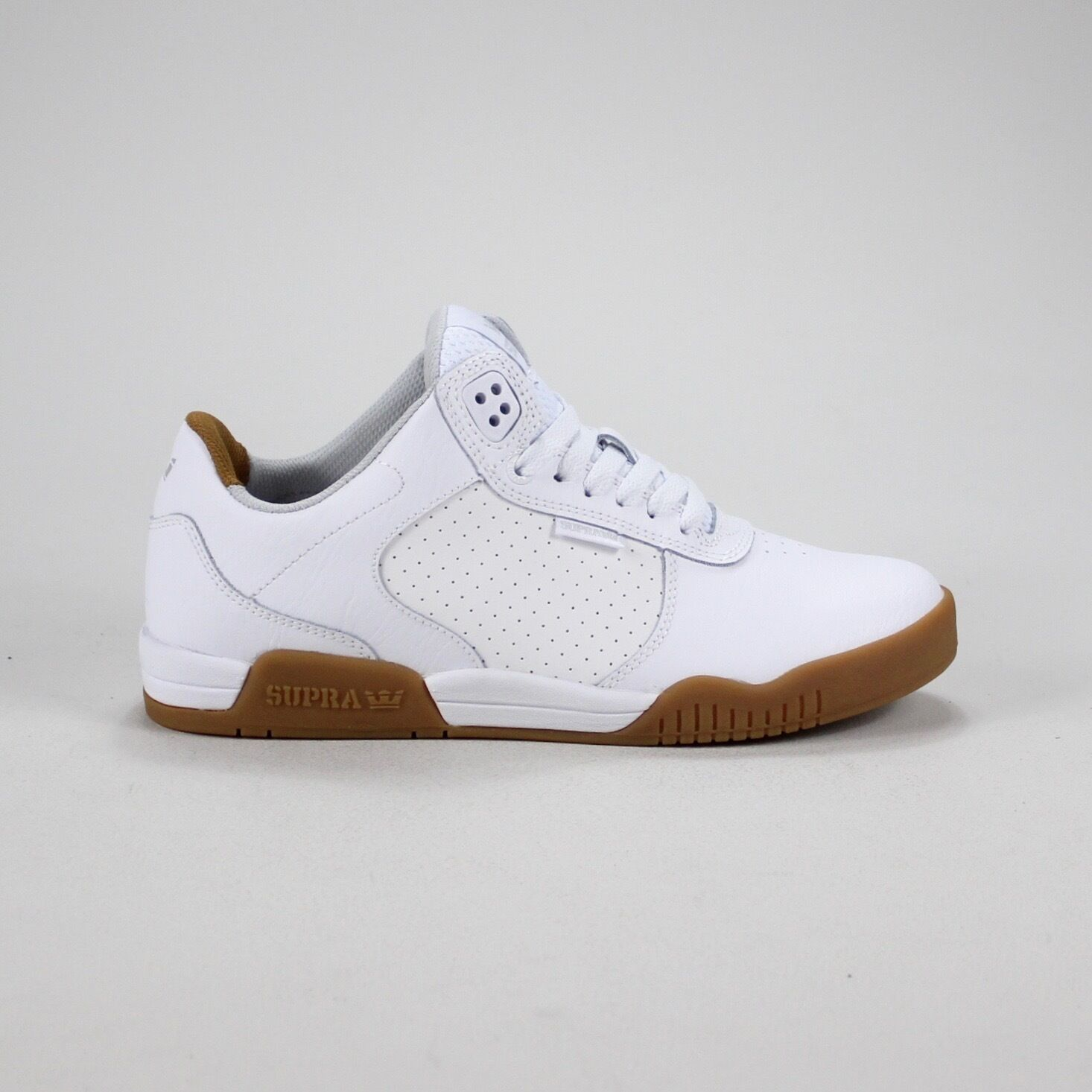 Supra Ellington Skate Trainers new in box blanc/Gum inTaille 7,8,9,10
