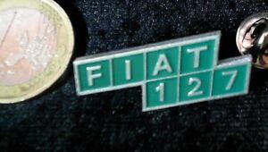 Pins, Moderne Vornehm Fiat Brosche Kein Pin Badge Model 127 Grün Lackiert Auto & Motorrad: Teile