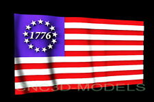3d Stl Model For Cnc Router Artcam Aspire Usa Flag America Betsy Ross D531