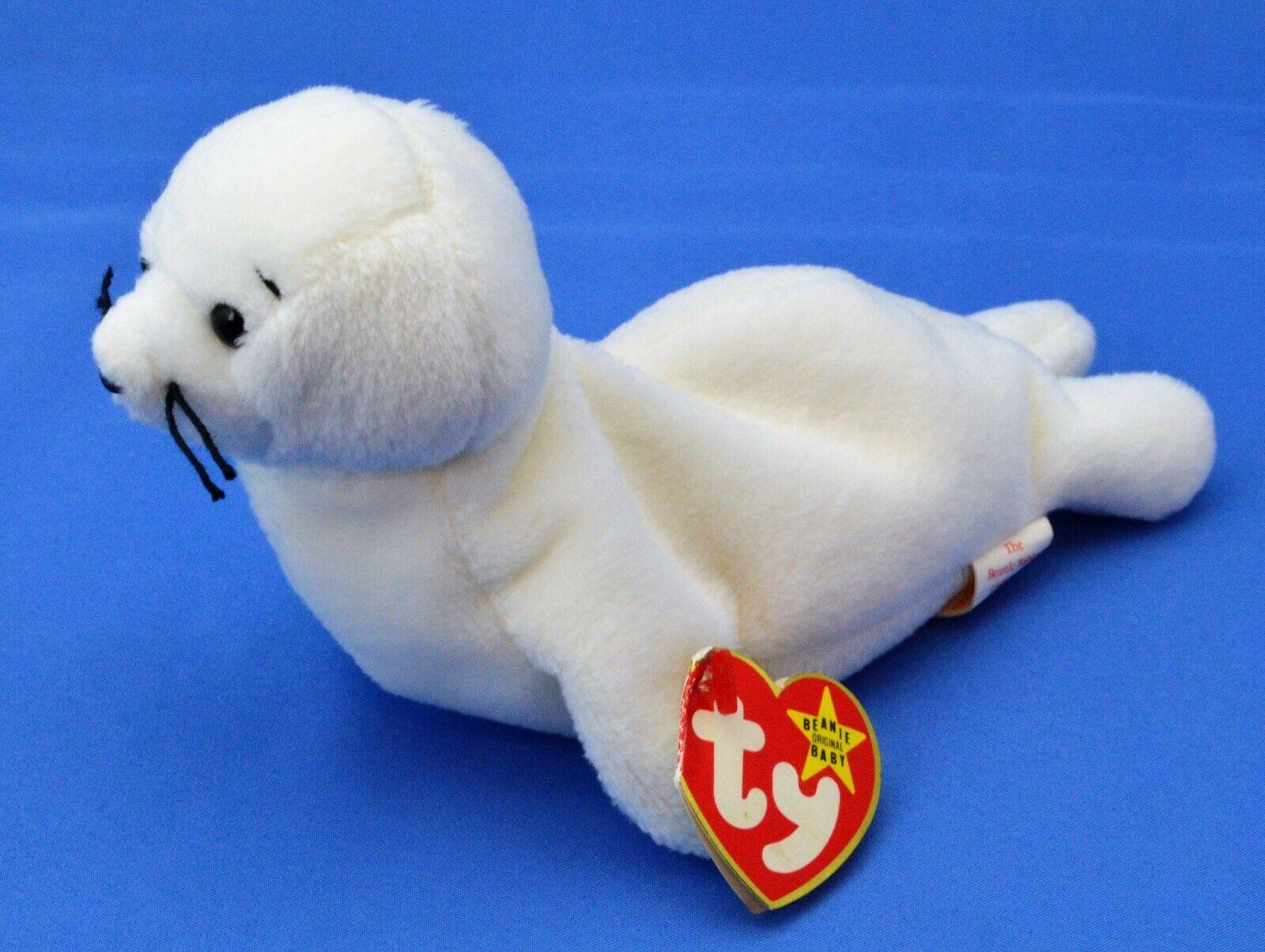 Seamore Ty Beanie Baby White Seal MWNMT Errors 4th 1993 PVC Fareham 12 14 1996
