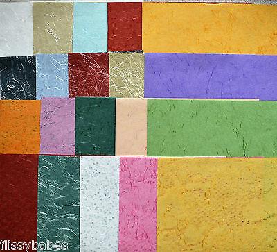50 Blätter sortierte Kraftpapier Scrapbook Papier für Künstler
