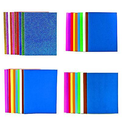 A5 PLAIN mousse feuilles autocollantes pour l/'Artisanat Et Fabrication Carte-Lot de 10
