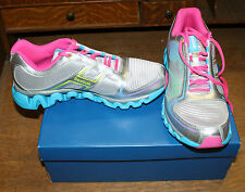 REEBOK ZIGLITE RUN J92475 YOUTH SIZE 4 SILVER/PINK NEW IN BOX FREE SHIPPING