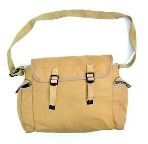 US-Army-Khaki-Canvas-Messenger-Bag-Heavy-Duty-Strong-Canvas-Shoulder-Side-Bag