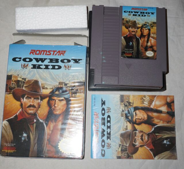 Cowboy Kid  (Nintendo NES) Complete in Box NEAR MINT Shape