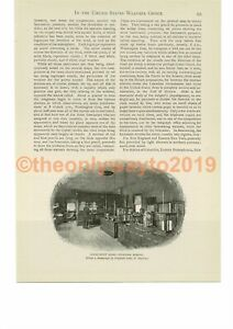 Instrument-Room-Weather-Bureau-Book-Illustration-Print-c1893