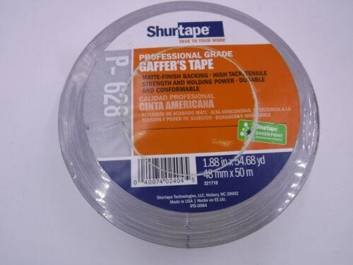 2 in x 55yds Shurtape P-628 Cloth Gaffer/'s Tape 48mm x 50m // Case