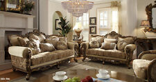 Homey Design Athens Euro Sofa and Loveseat Furniture HD-506
