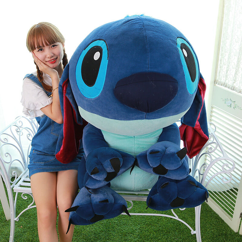 40'' Giant Hung Lilo & Stitch toys Stuffed Plush soft Doll Pillow Valentine Gift