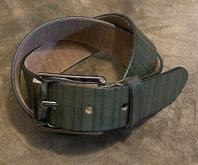 Men/'s Fashion 100/% Genuine Leather Belt UPS1660
