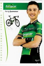CYCLISME carte cycliste PERRIG QUEMENEUR équipe EUROPCAR 2012