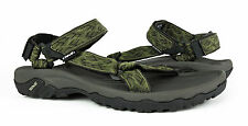 Teva Hurricane XLT Wavy Trail Olive Green Sandals Mens 12 *NEW IN BOX*