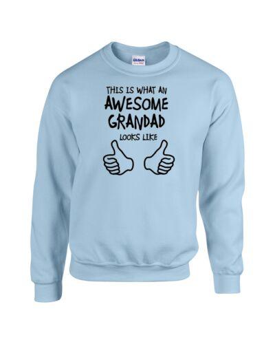 Superbe grand-père grandpa sweater sweat noël anniversaire cadeau top