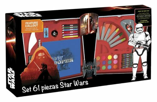 Simba Star Wars 40309 VII Set 61 Pieces stationary arts and crafts colouring toy