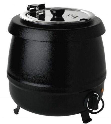 Pot Soupe Chaudière Chafi électriquement 9 L étiquettes industrielle Apte NEUF