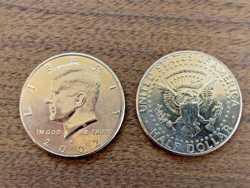 2002 D Kennedy Half Dollar