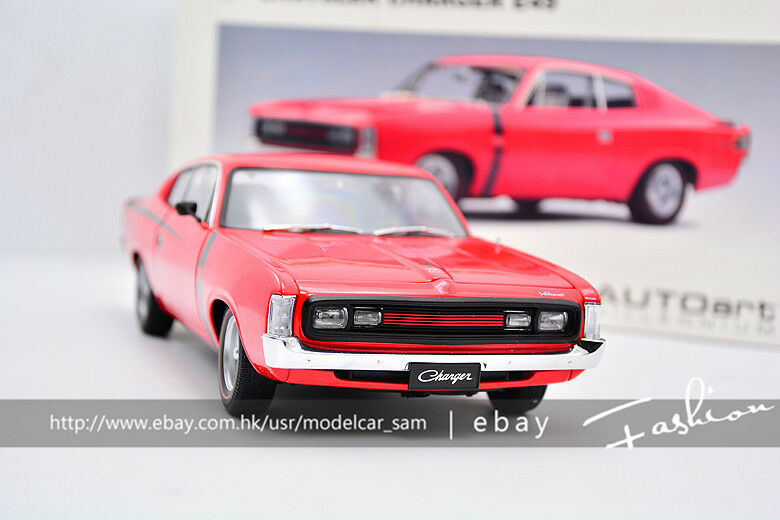 AUTOART 1 18 Chrysler Charger E49 Red