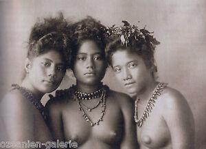 "Historical photographs of Polynesia - Hamburg 2014 ""A GLIMPSE INTO PARADISE"""