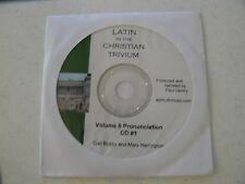Latin in the Christian Trivium Volume 2 pronunciation CD #1