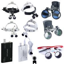 Dental Loupes Surgical Binocular Glass Medical Magnifier Amp Led Head Light 9model