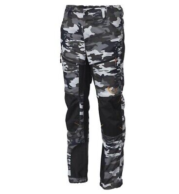 SAVAGE GEAR Simply Savage Camo Trousers Angler Outdoor Freizeit Hose