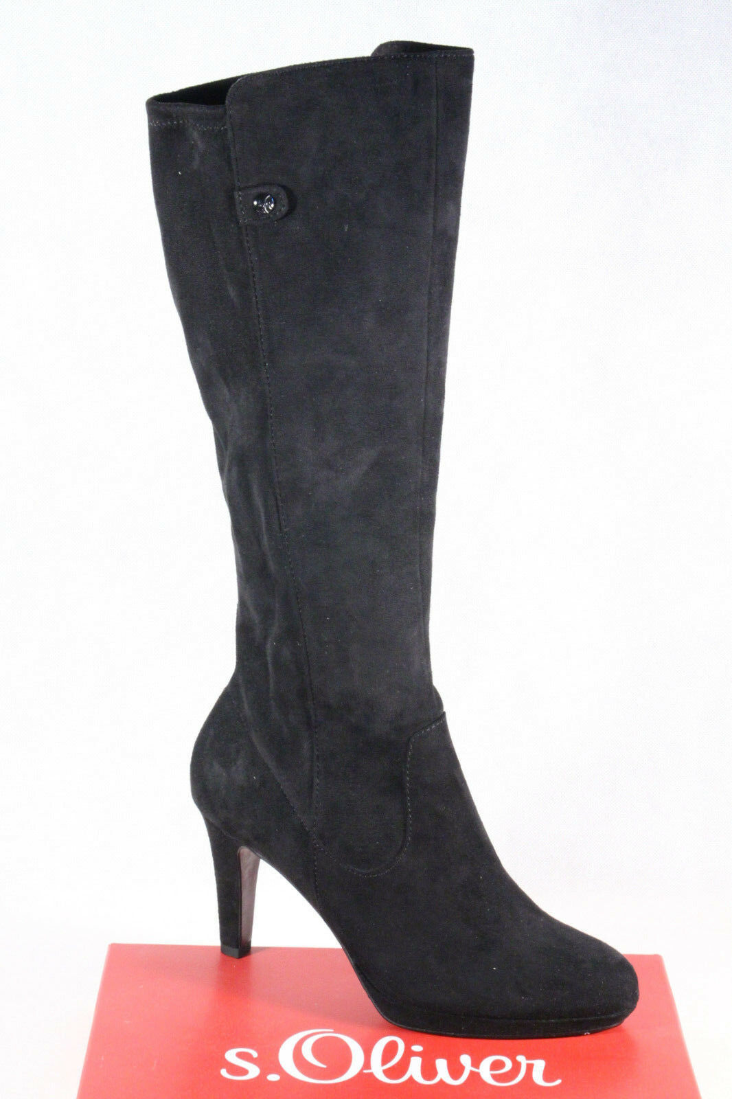 S.OLIVER 25506 Women's Boots, Ankle Boots Winter Boots Black New