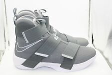 sale retailer ad444 a86e7 item 1 Nike Lebron Soldier 10 DS Size 11 Cool Grey Wolf Grey White Lebron  James -Nike Lebron Soldier 10 DS Size 11 Cool Grey Wolf Grey White Lebron  James