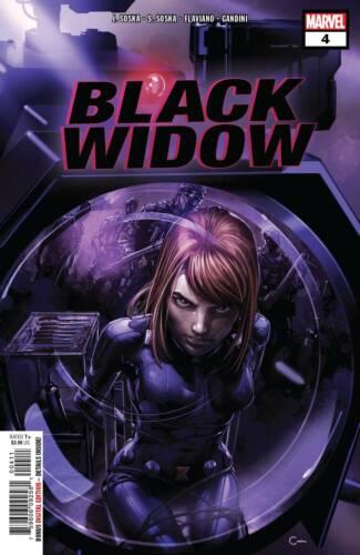 BLACK WIDOW #4 MAIN COVER MARVEL NM 1ST PRINT 2019