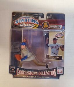 2001 NOLAN RYAN Starting Lineup 2 Cooperstown Collection Figure #51 MLB HOF