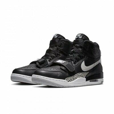 Linea Uomo Donna Nike Air Jordan Legacy 312 Sneakers Nero AV3922 001 UK 6 _ 7 | eBay