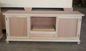 Mobile porta tv 2 porte 1 cassetto grezzo salotto soggiorno da decorare ebay - Mobili grezzi da decorare ...
