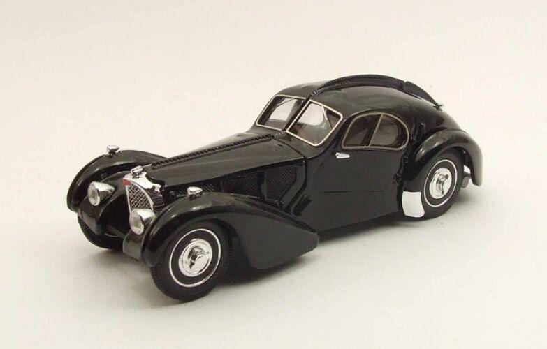 Rio 4368 - Bugatti 57 SC Atlantic black musée Ralph Lauren   1 43