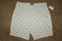 Nwt/ot Mens Quiksilver Youngblood Shorts White Brown Size 30 32 Nice Lqqk $50