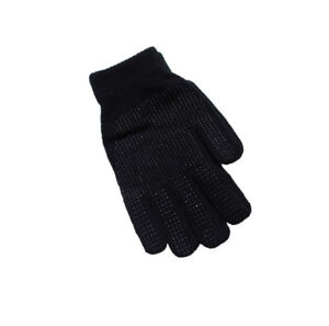 2 Pairs Magic Gloves With Gripper Winter Warm Thermal Black Mens /& Ladies Cheap1