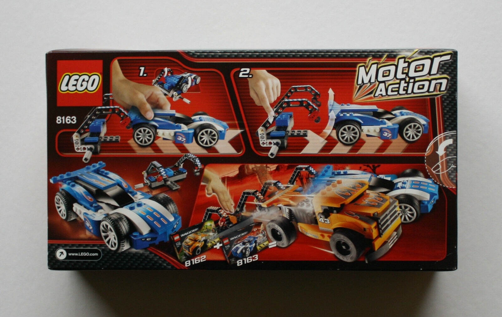 LEGO RACERS blueE SPRINTER MOTOR MOTOR MOTOR ACTION 8163 BRAND NEW SEALED IN BOX SET RETIRED 86400c