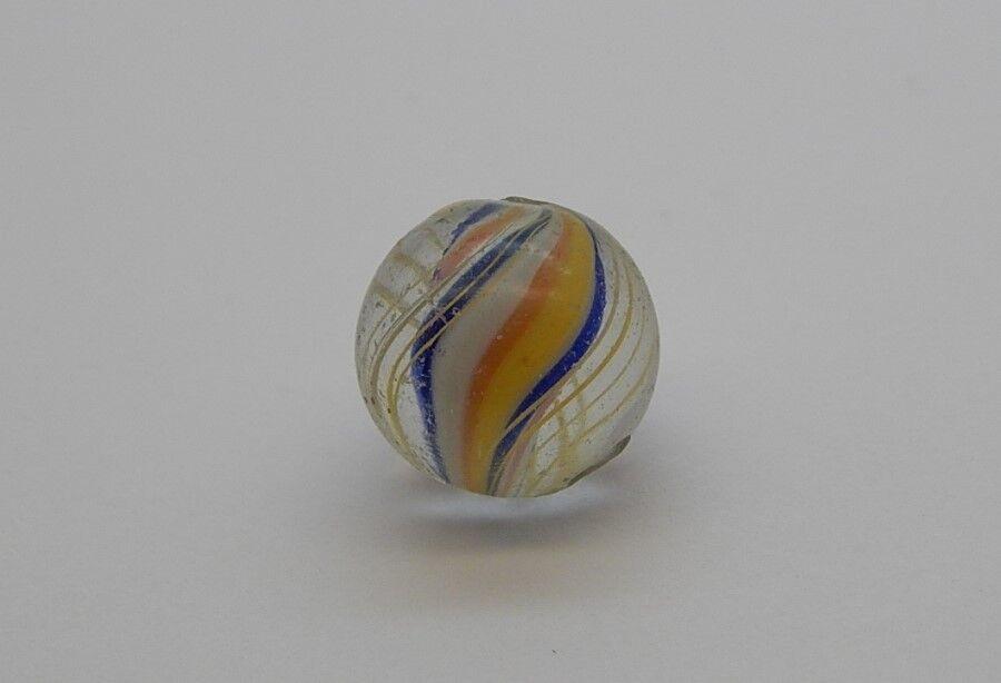 Vintage German German German Swirl Ribbon Marble Handmade  R8208 b9149d