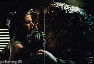 Coupure-de-presse-1983-Poster-Le-retour-du-Jedi-Star-Wars-Carrie-Fisher